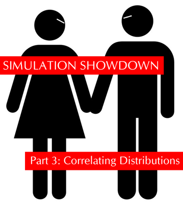 Escel Simulation Showdown Part 3: Correlating Distributions