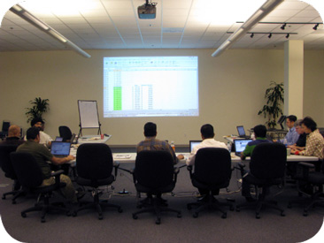 Live predictive analytics training